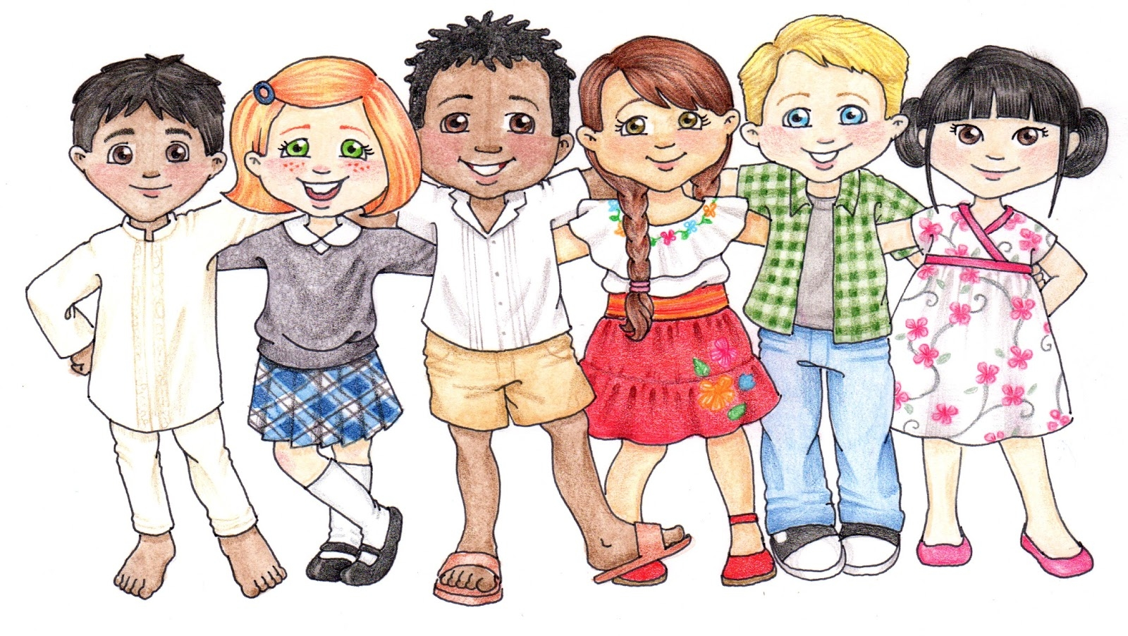 Primary kids clip art. Lds clipart children's