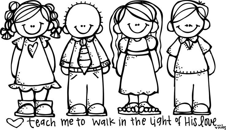 Free to color for. Lds clipart colored