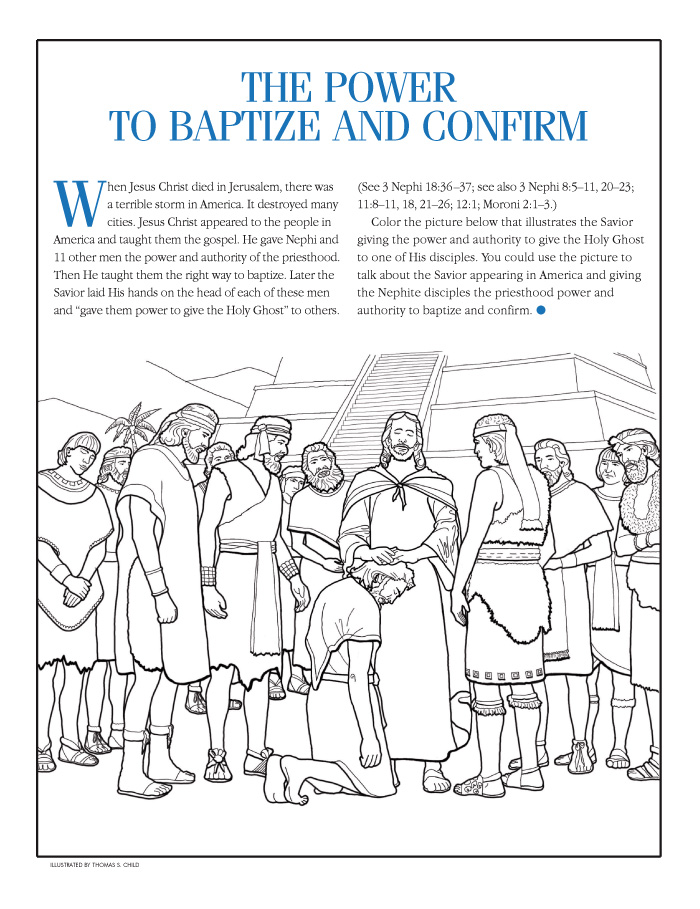 Pages . Lds clipart coloring page