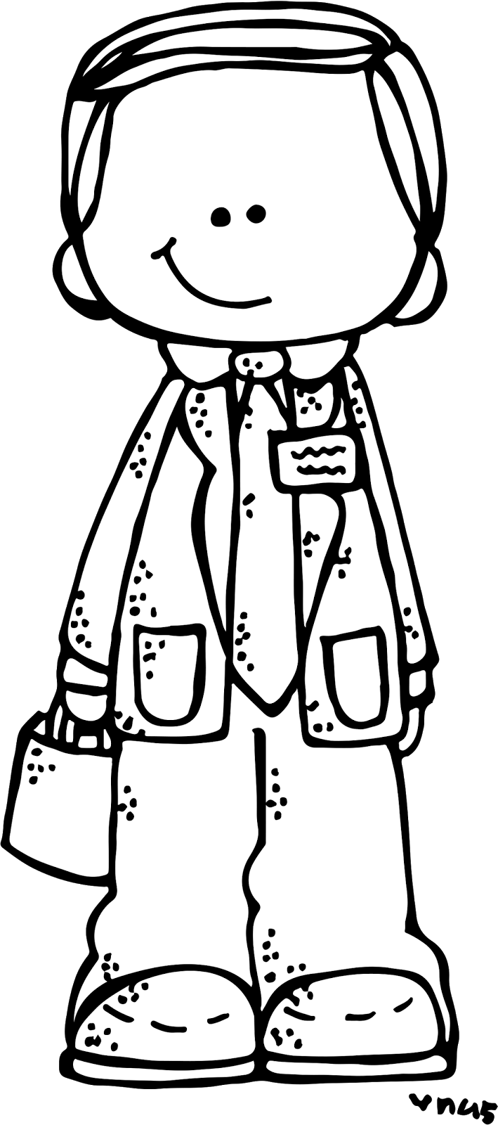 Lds clipart coloring page.  collection of missionary