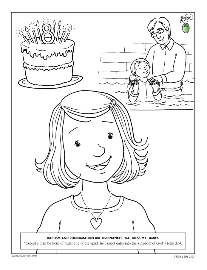 Lds clipart coloring page. Pages
