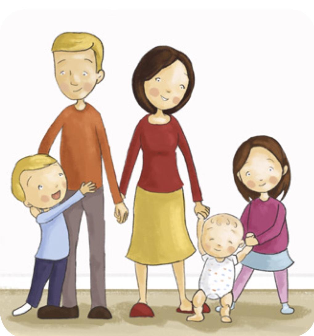 Teaching children . Lds clipart family