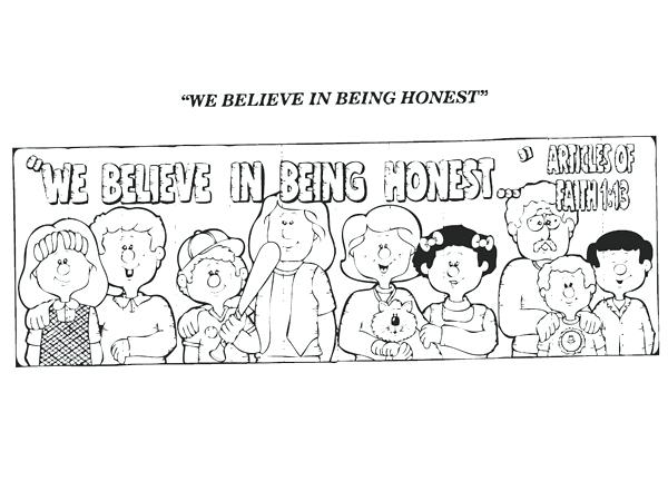 Lds clipart honesty. Free download