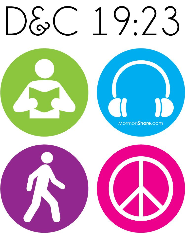 Free mutual theme logo. Lds clipart peace