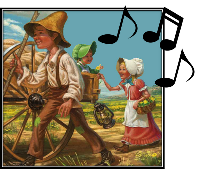 Wagon clipart pioneer life. Singing time idea pioneers