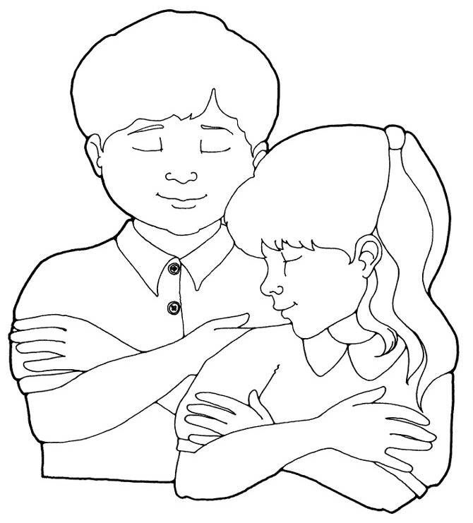 Lds clipart prayer. Boy praying coloring page