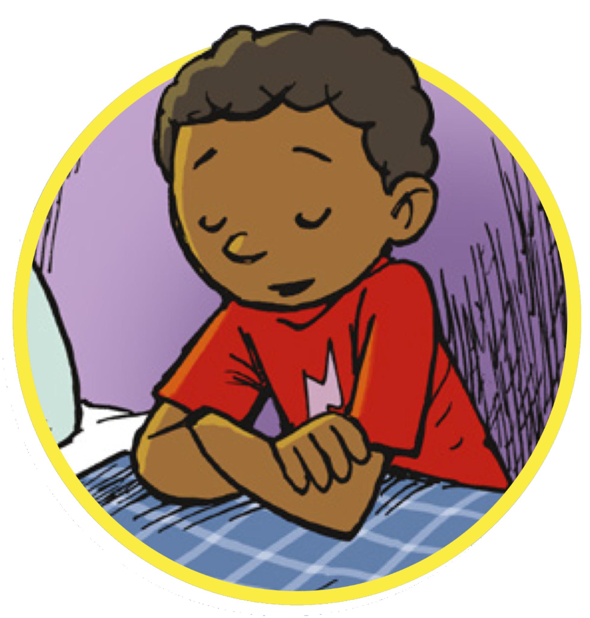 Teaching children . Lds clipart prayer