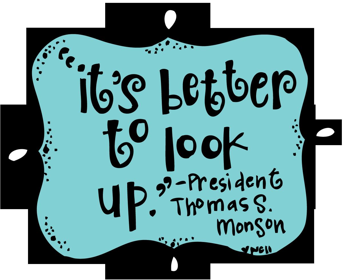 Lds clipart president monson. Melonheadz illustrating wordies melonheads