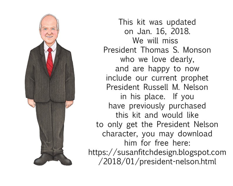 Follow the clip art. Lds clipart prophet