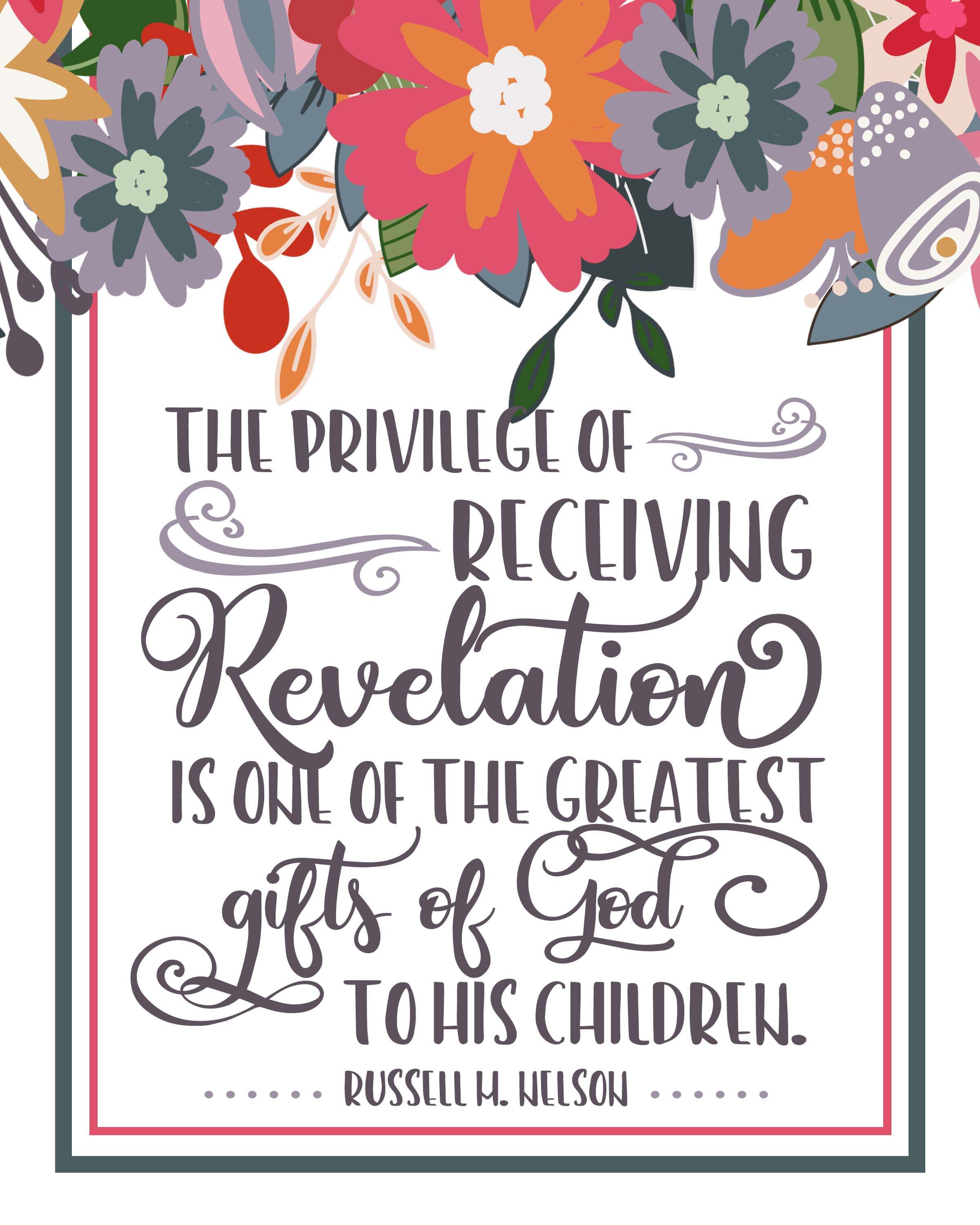 Lds clipart quote. April general conference free