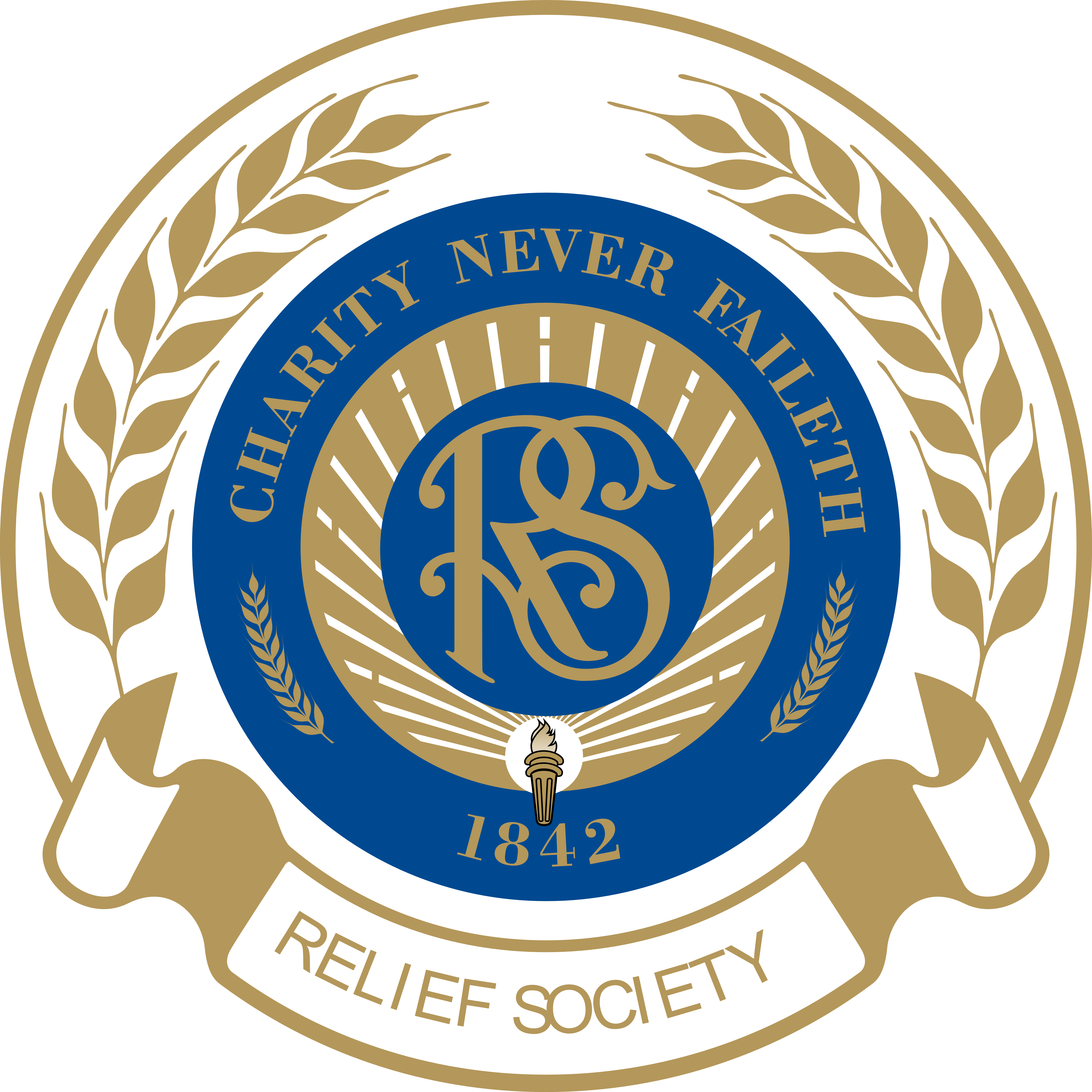 Logos . R clipart relief society