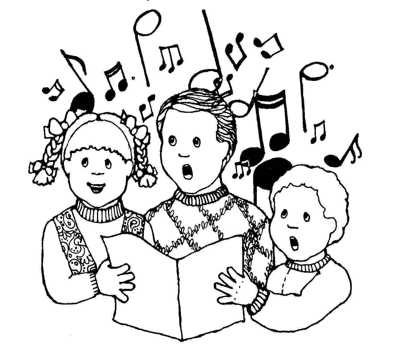 Lds clipart singing. Mormon share kids primary