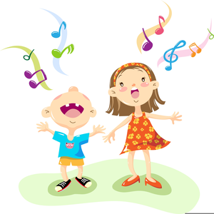 Children free images at. Lds clipart singing