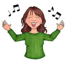 best susan fitch. Lds clipart singing