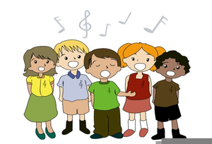 Lds clipart singing. Children free images at