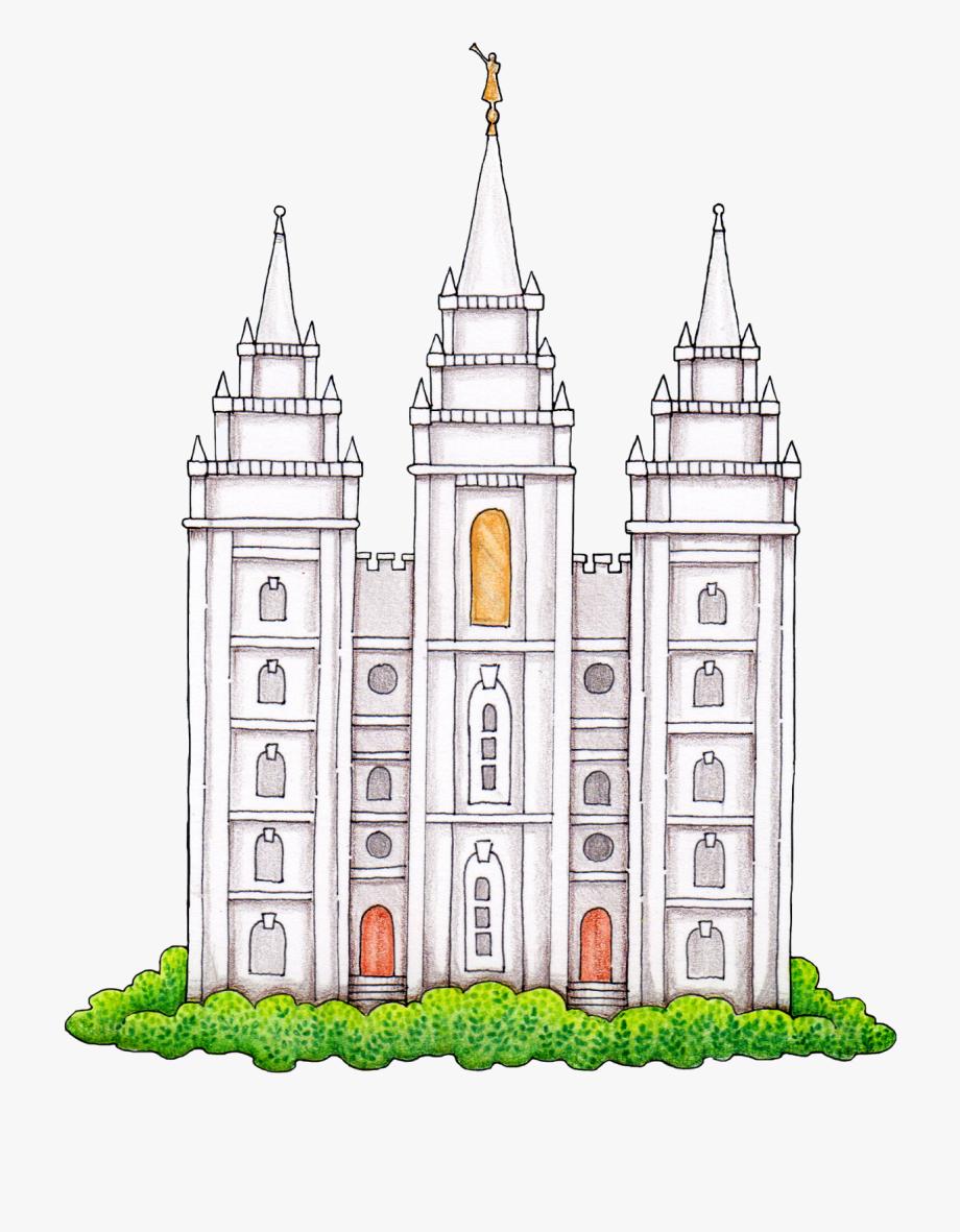 Susan fitch design free. Lds clipart temple