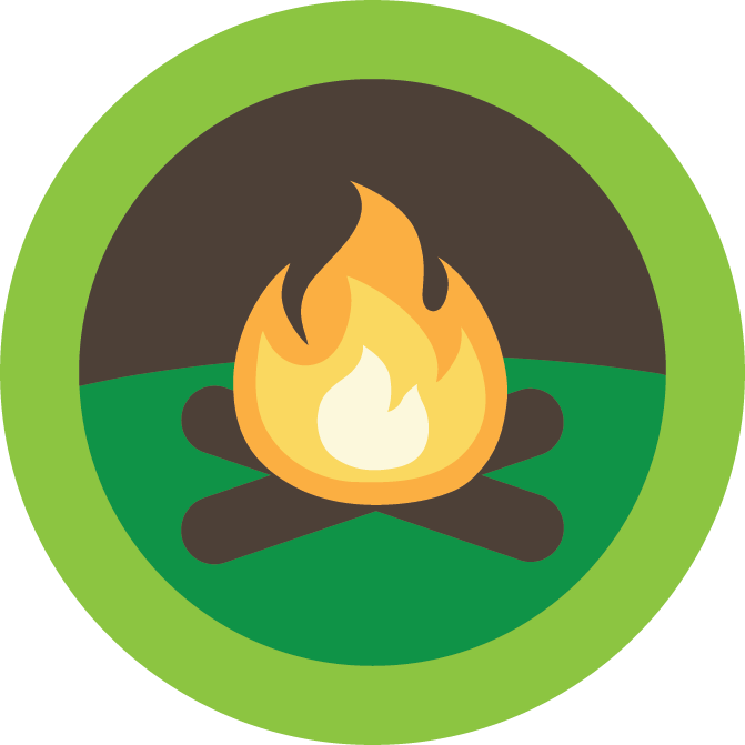 Mission clipart support. Campfire leader camp encourage