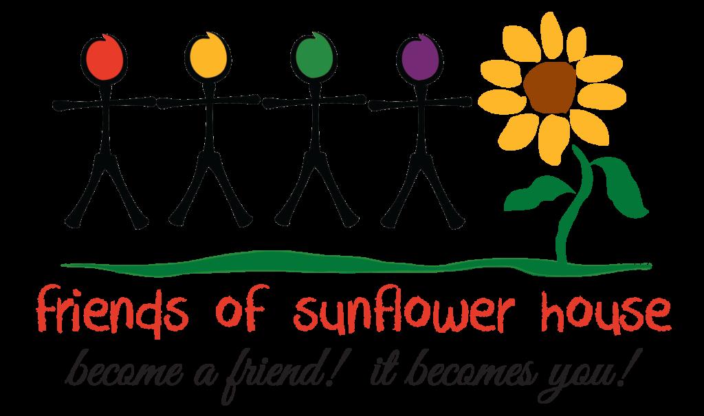 Volunteer sunflower house opportunities. Volunteering clipart fundraiser