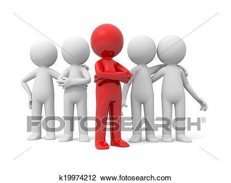 Leader clipart group leader. Portal