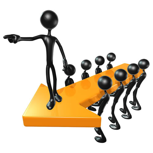 Leader clipart lead the way. Education and leadership categorizing