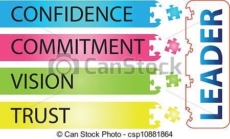 Clip art vector of. Leader clipart leadership quality