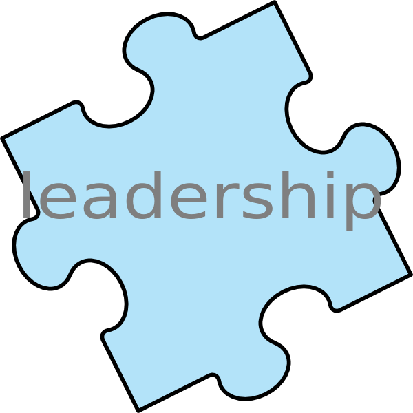 Piece leadership clip art. Leader clipart puzzle