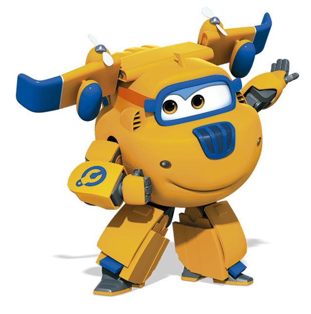 Wing clipart animated. Image super wings donnie