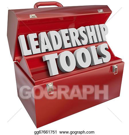 Leadership clipart leadership training. Stock illustration tools skill