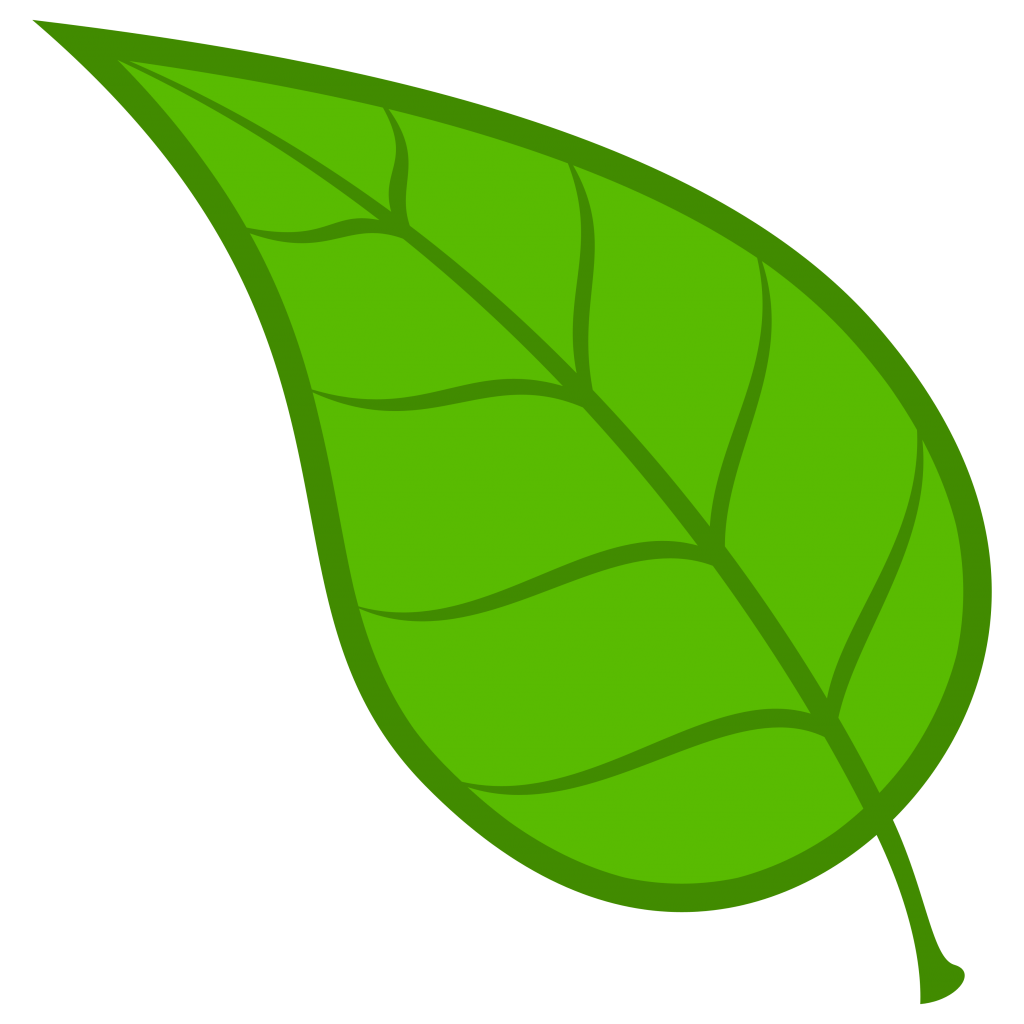 Leaf cilpart stylish design. Leaves clipart