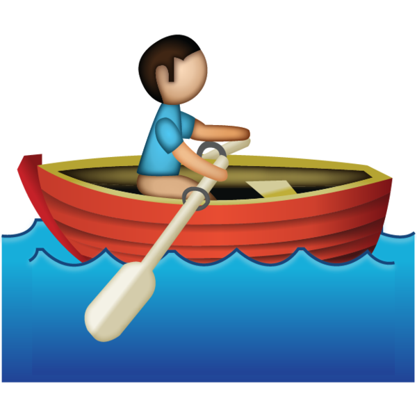 Leaf clipart boat. Rowing free download best