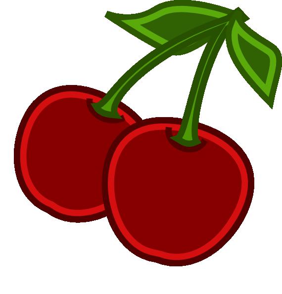 Strawberries clipart cherry. Cherries clip art at