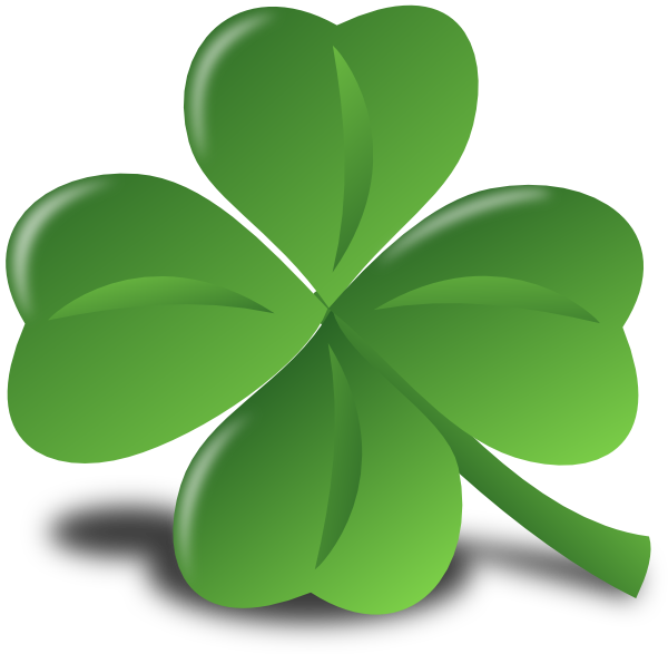 Leaf clipart icon. Saint patrick day clip