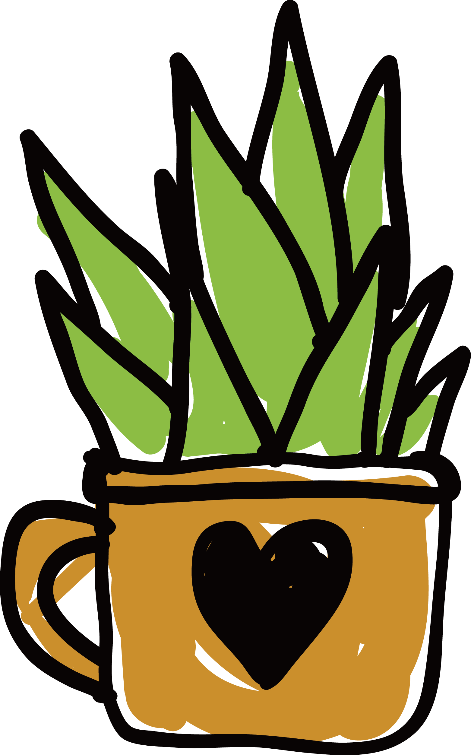 Clip art customized love. Planting clipart water plant
