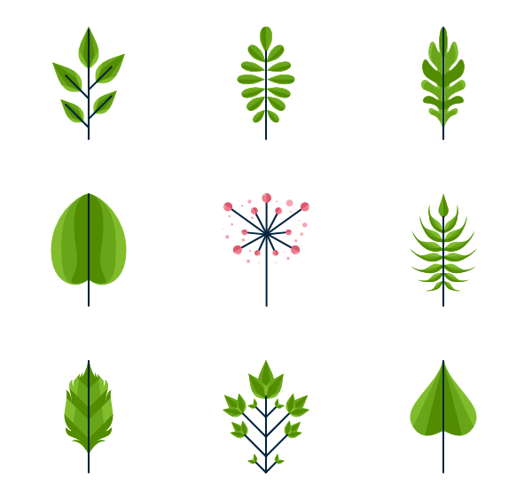 Leaf vector png. Icons free leaves