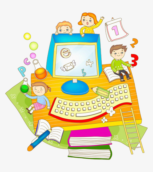 Children child computer png. Learn clipart