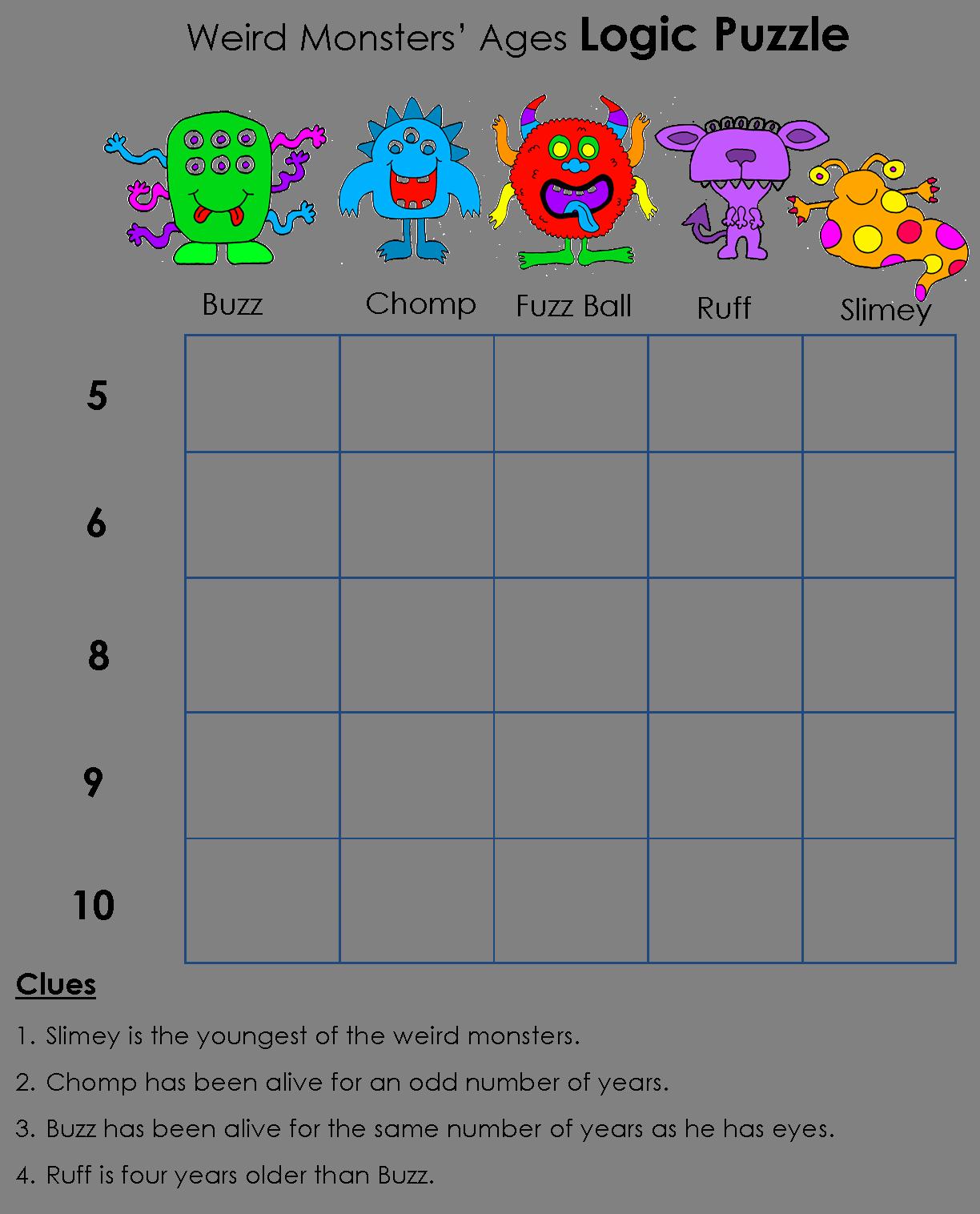 Puzzle clipart math puzzle. Beyond gold stars logic