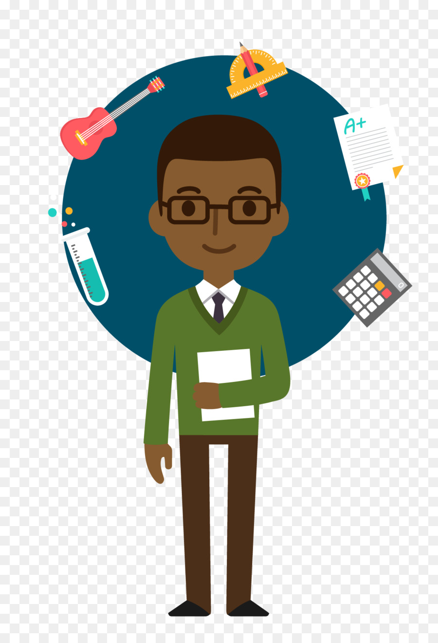 Learning clipart student performance. College school
