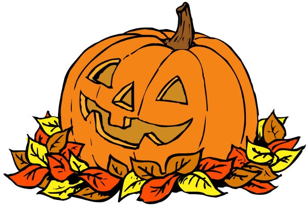 October clipart pumpkin. Free leaves download clip