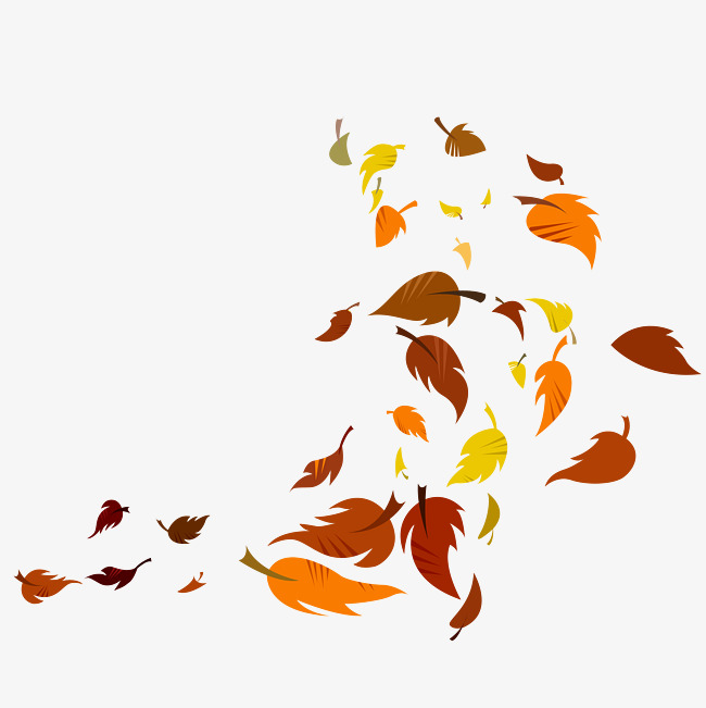 Portal . Leaves clipart windy