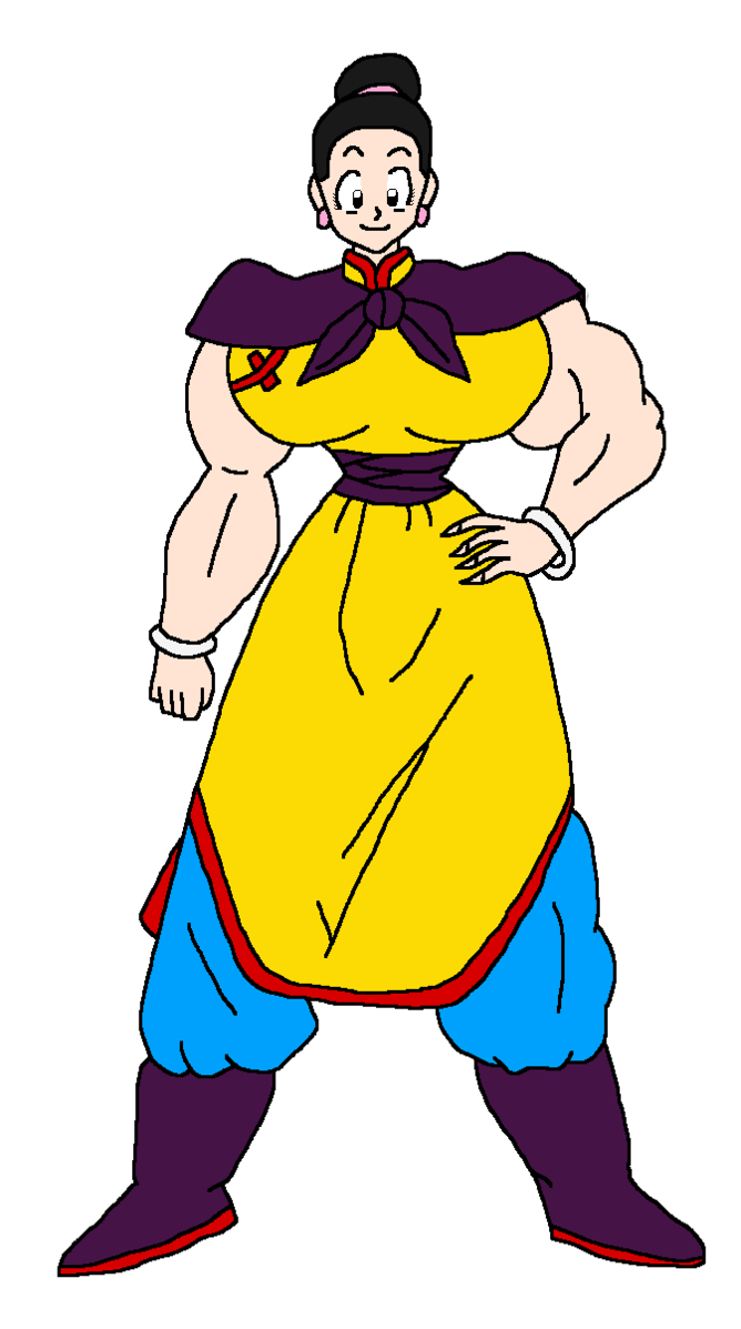 Chi colored by taylorstoonadventure. Leg clipart buff