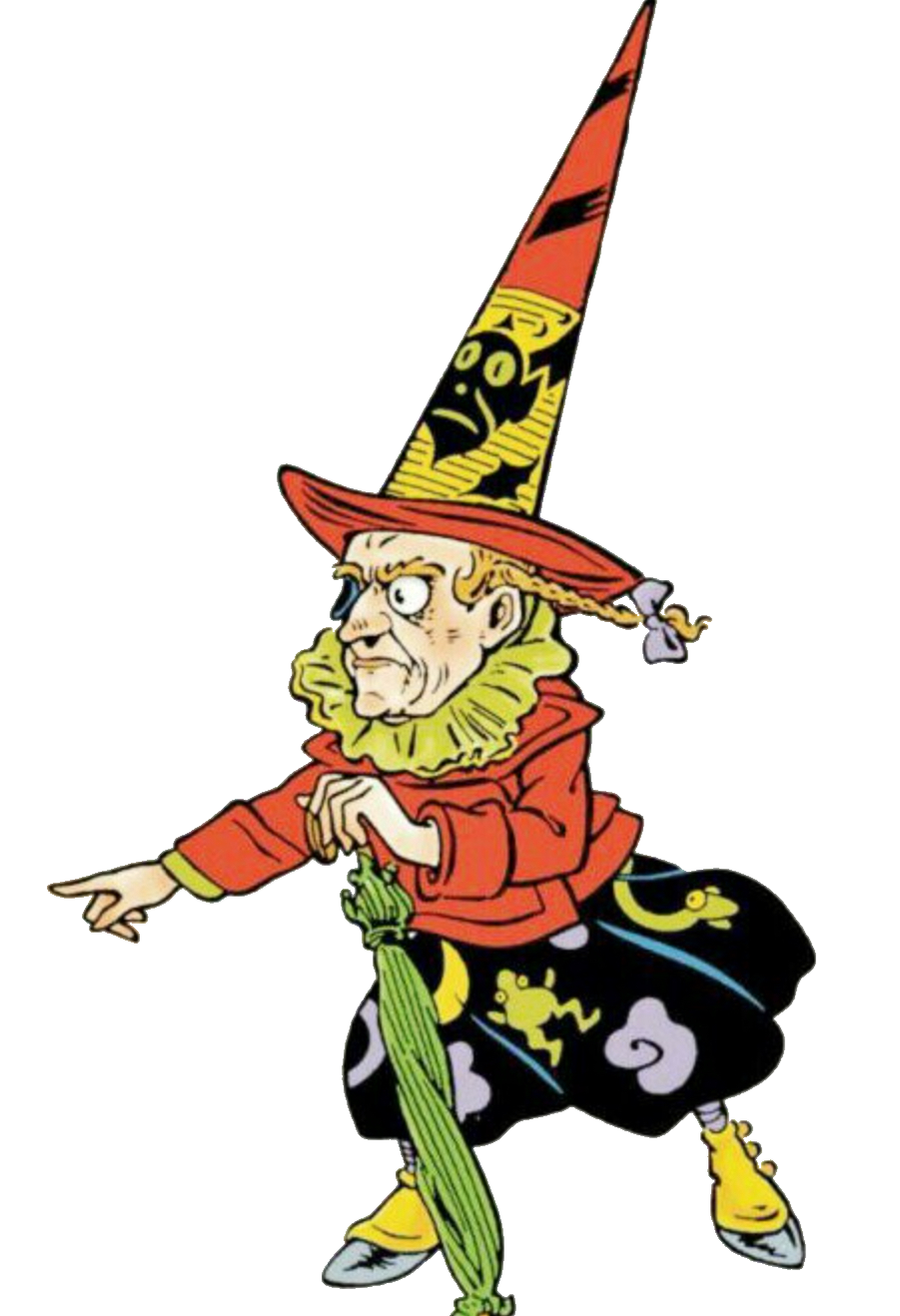 Witch clipart wicked witch. Of the west at