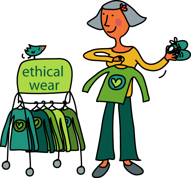 Issues shop ethical happy. Pocket clipart clothes shopping