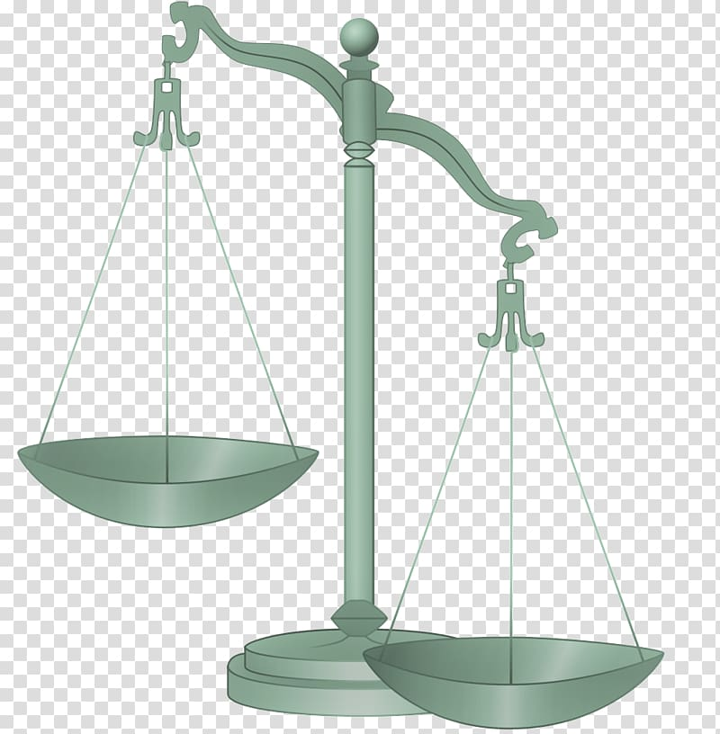 Measuring scales lady justice. Legal clipart injustice