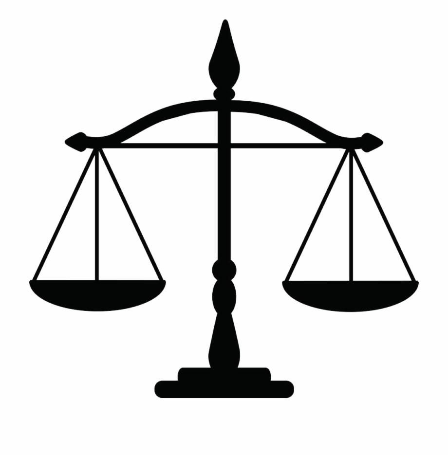 Justice weighing law clip. Scale clipart lawyer