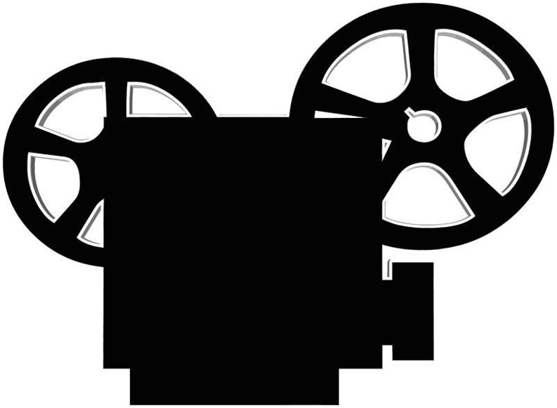 A film publicly at. Legal clipart screening
