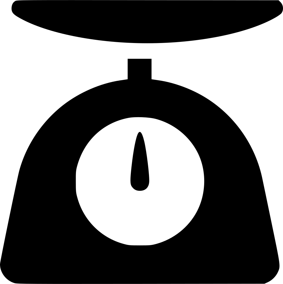 Scale cooking svg png. Weight clipart weight measure