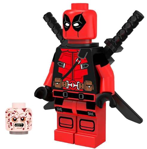 Deadpool png . Lego clipart