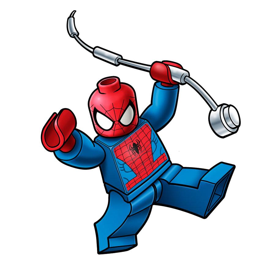 Marvel lego spiderman png. Legos clipart bad