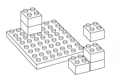 Lego clipart black and white. Clip art library