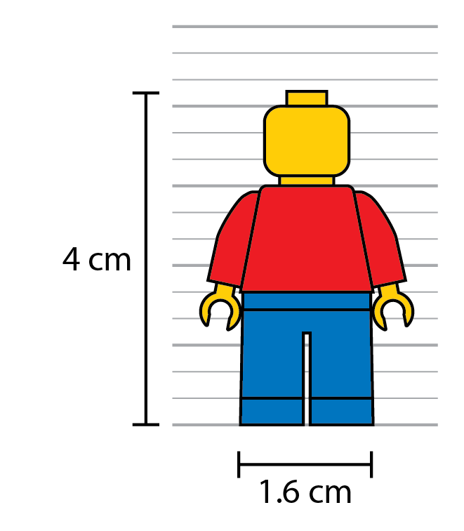 Lego figures in scale. Legos clipart guy
